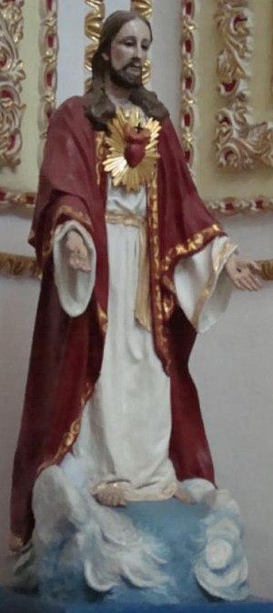 English: Saint Peter Church, Ecatepec de Morel...