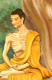 Siddhartha Gautama meditating.