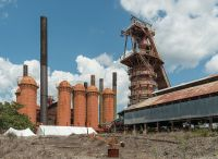 File:Sloss Furnaces, Birmingham AL, Cowper Stoves and