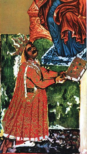 Contemporaneous image of Stephen the Great.