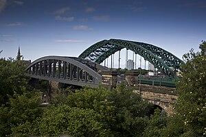 Sunderland bridges over River Wear