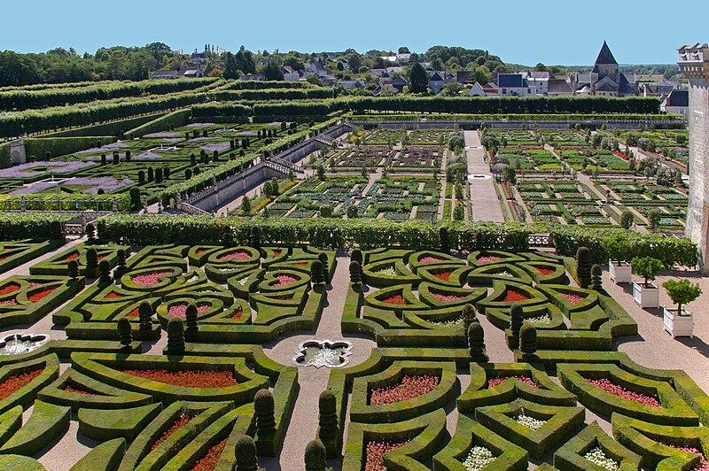 Villandry Jardins style Renaissance