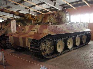 Немецкий тяжёлый танк Pz.VI (Tiger I)
