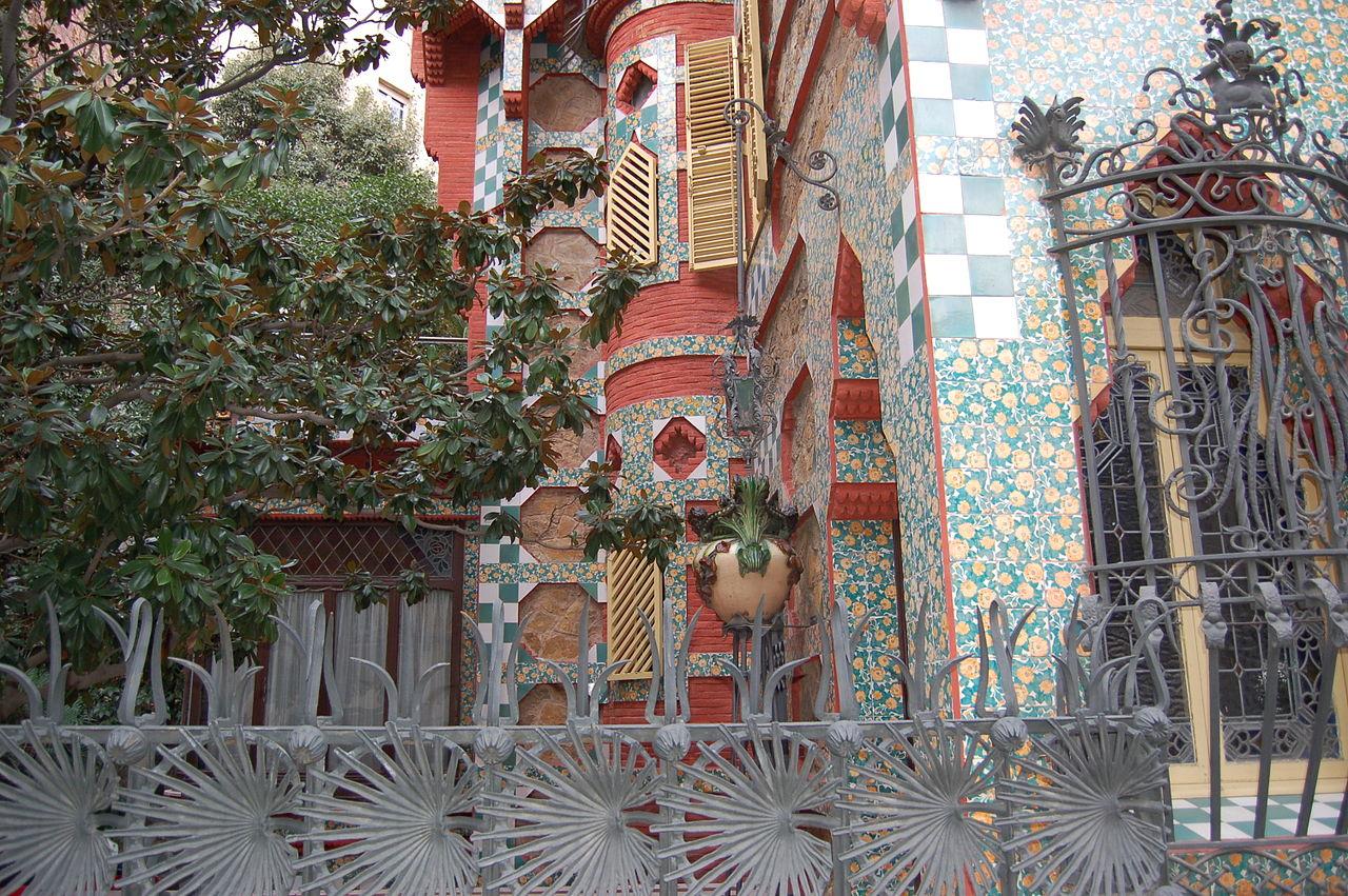 FileBarcelona casa Vicens Antoni Gaudjpg  Wikimedia