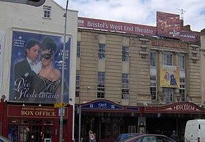 Bristol Hippodrome. Taken by Rod Ward 16th Aug...