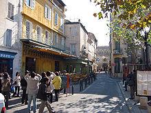 Terrazza del caff la sera Place du Forum Arles  Wikipedia