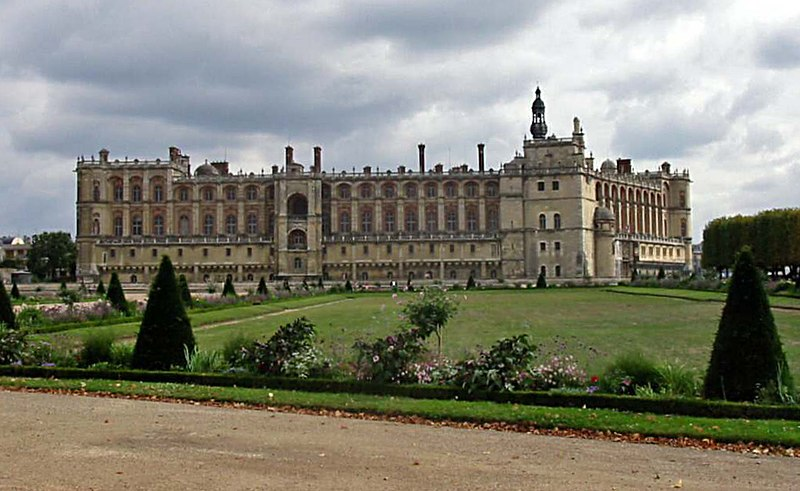 Saint-Germain palace in which an agreement was signed.