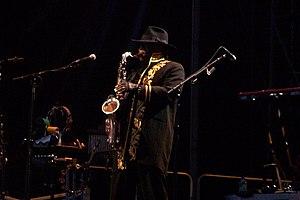 Clarence Clemons... Big Man!!! Performing &quo...