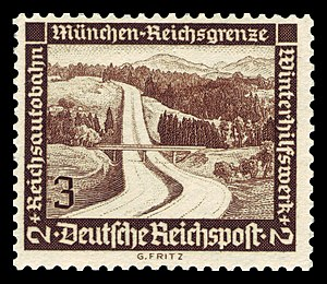 stamp series Winterhilfswerk with additional s...