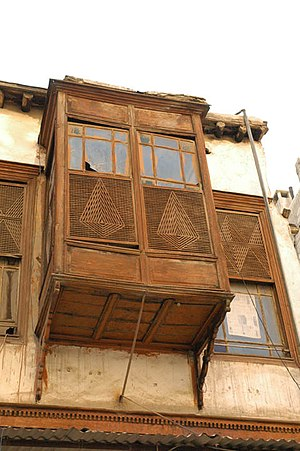 A window in old Damascus