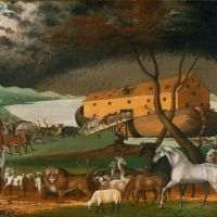 """Noah's Ark"" by Edward Hicks"