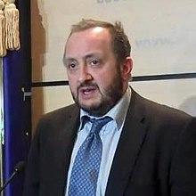 Giorgi Margvelashvili as Minister of Education in May 2013.