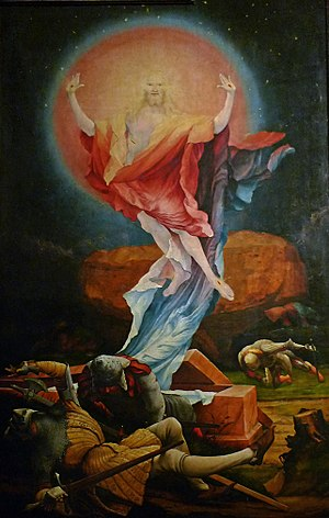 The Resurrection from Grünewald's Isenheim Alt...