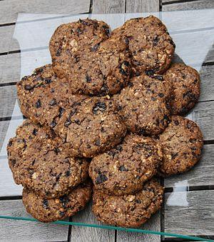 Home made cookies.