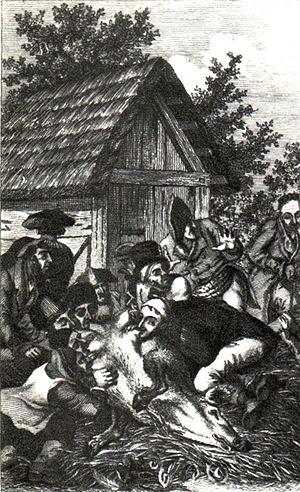 Frontispiz zu Die Judenschule (Aarau 1822) nac...
