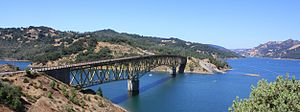 English: Lake Sonoma, Sonoma County, California