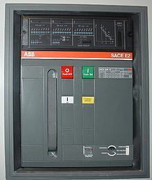 circuit breaker panel wiring diagram v shaped valley wikipedia front of a 1250 air manufactured by abb this low voltage power can be withdrawn from its housing for servicing