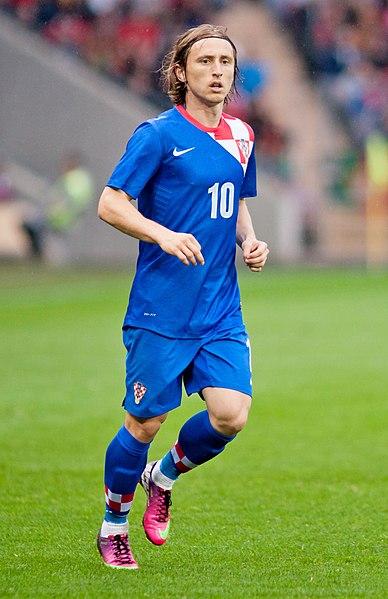 Luka Modric estrella del futbol croata