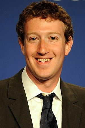 English: Mark Zuckerberg, Founder & CEO of Fac...