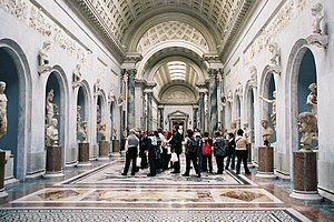 Musei Vaticani: Braccio Nuovo (inside).