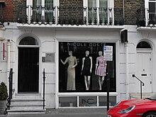 Nicole Coste store, Beauchamp Place, London (2016)