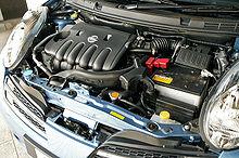 4efte Fuel Filter On Honda Nissan Hr Engine Wikipedia