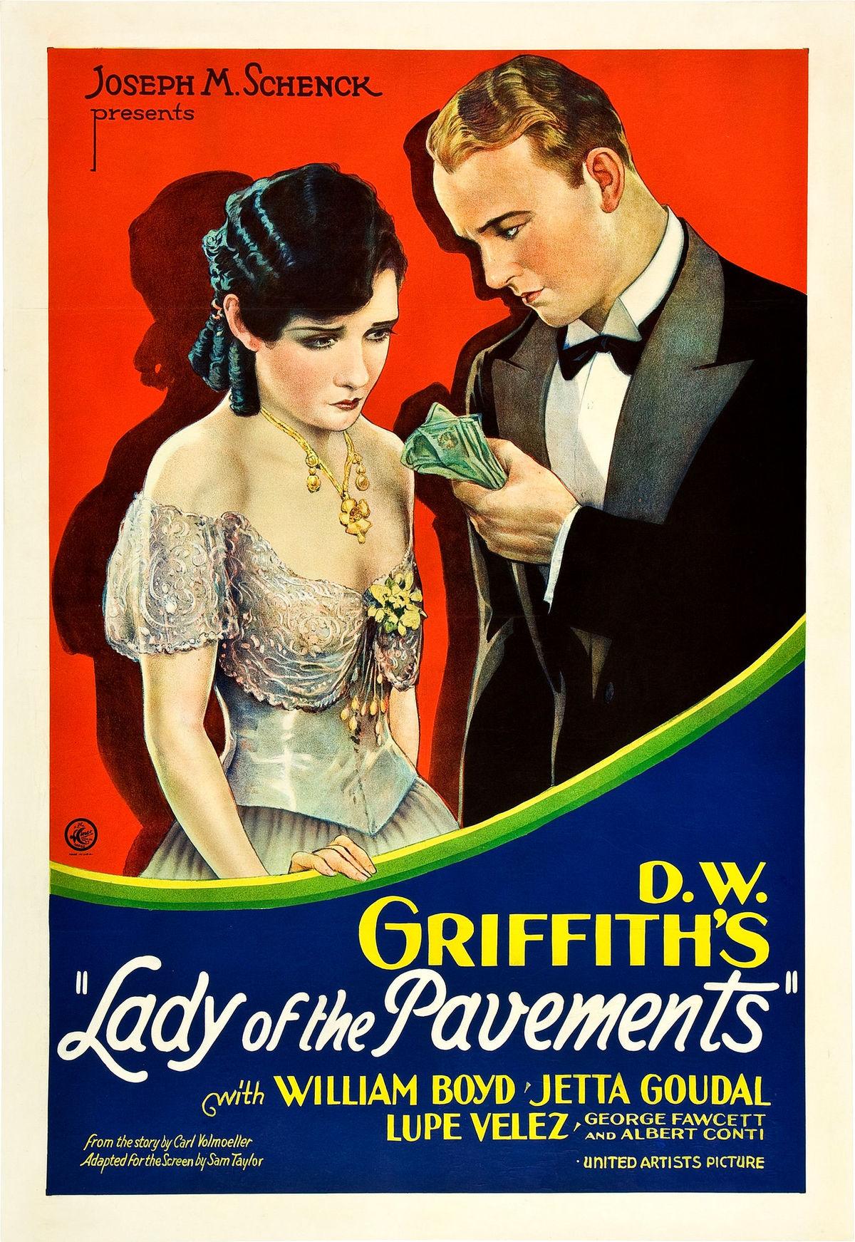 Lady of the Pavements  Wikipedia