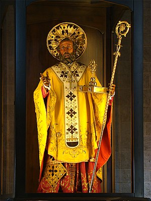 English: Basilica of Saint Nicholas, Bari, Apu...