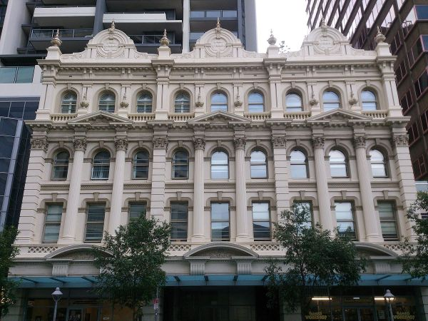 Queensland Country Life Building Facade - Wikipedia