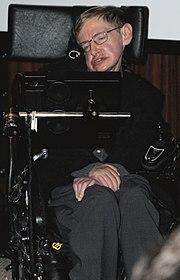 Stephen Hawking, responsable de la Teoria de Hawking, es uno de los principales colaboradores de la CERN y participante del LHC