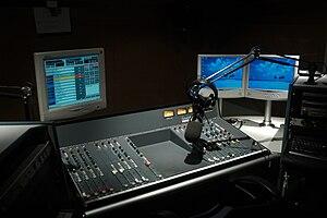 RMF Classic Radio studio