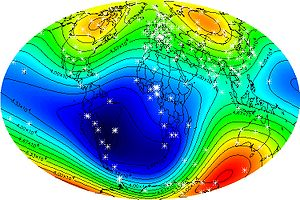 Global Magnetic Field IGRF 2000