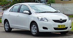 toyota yaris trd turbo grand new veloz modif wikipedia second generation sedan