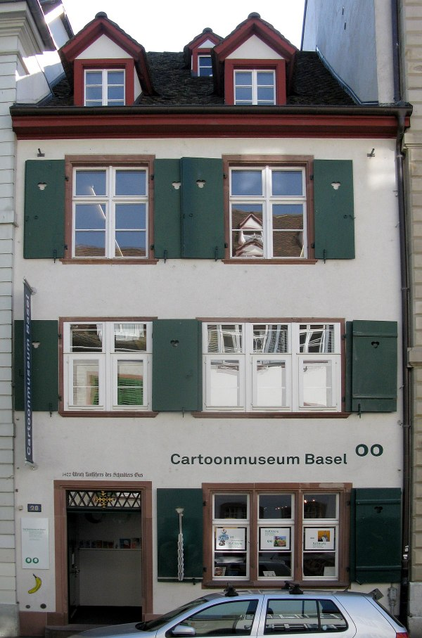 Caricature & Cartoon Museum Basel - Wikipedia