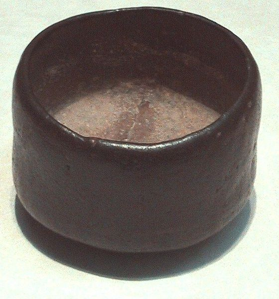 File:Black Raku Tea Bowl.jpg