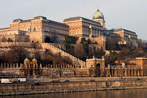 English: Castle Hill (Budapest, Hungary)