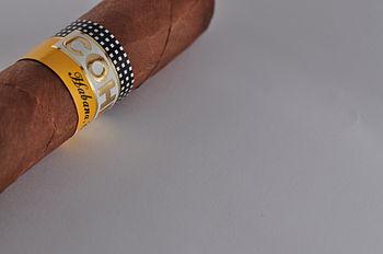 Cohiba cigar.