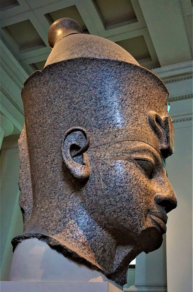 Colossal Granite Statue of Amenhotep III - British Museum - Joy of Museums