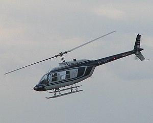 Croatian police helicopter Bell 206 B Jetrange...