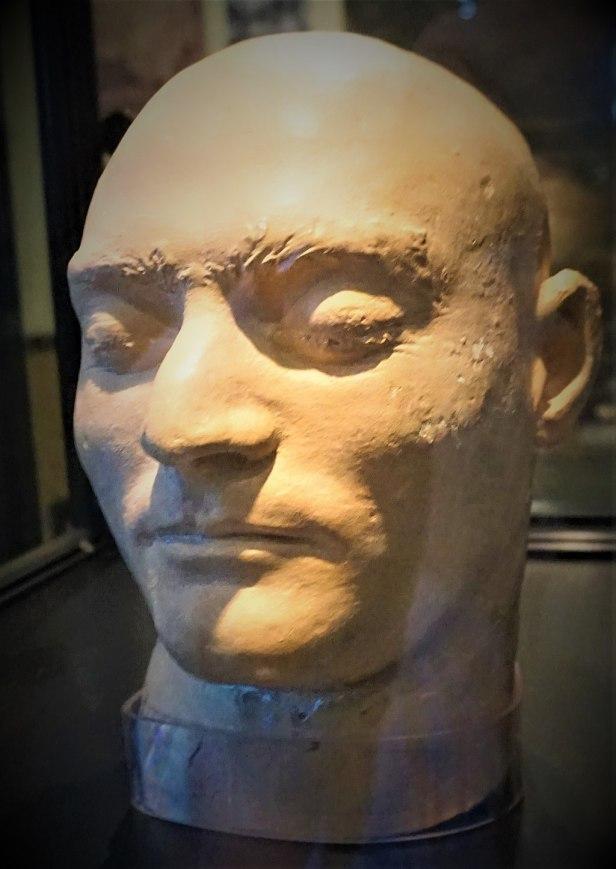 Death Mask of Ned Kelly - www.joyofmuseums.com - Old Melbourne Gaol
