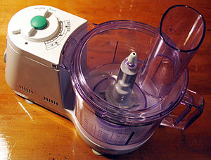 This is the food processor part of a Braun Mul...