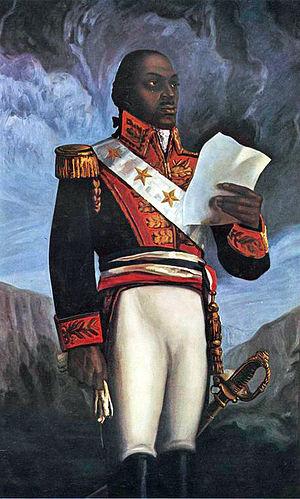 Français : Le général Toussaint Louverture.