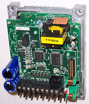 vfd control wiring diagram microscope enchanted learning variable frequency drive wikipedia chassis of above cover removed