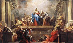 Français : Jean II Restout : Pentecôte