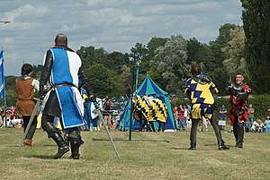 Jousting at Hever Castle, Kent (11) Towards th...