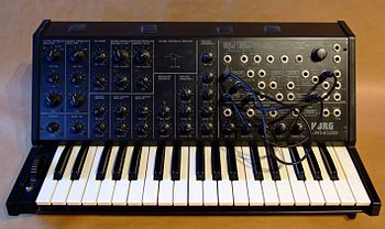 Korg MS-20 monophonic synthesizer