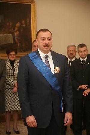 Poland, Lech Kaczyński and Ilham Alijew
