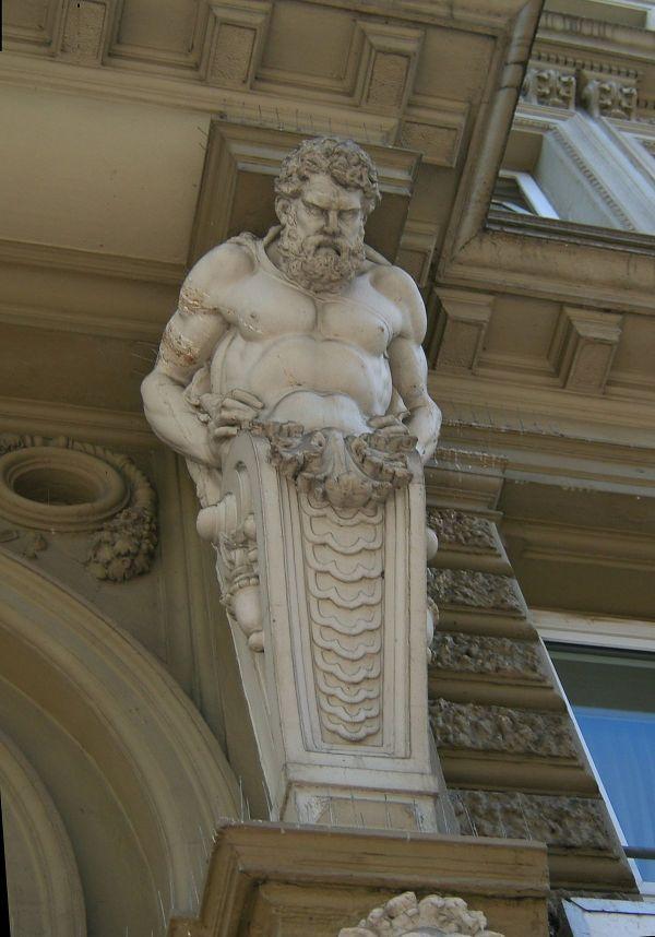 Atlas Greek Architecture