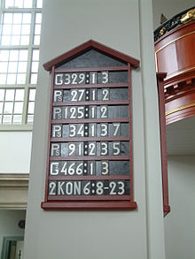 Hymn board  Wikipedia