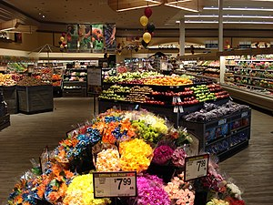 Safeway Store Lifestyle look Produce Dept.